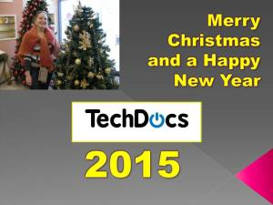 Merry Christmas and a Happy New Year from TechDocs Israel